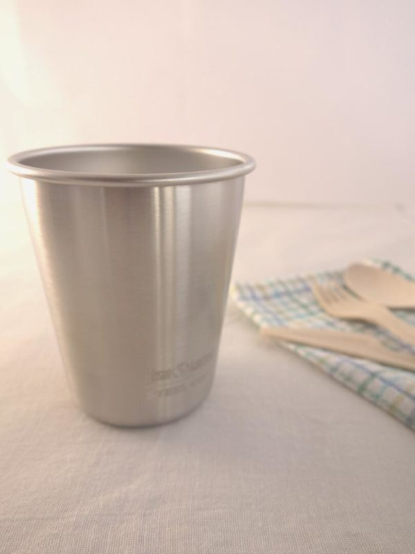Vaso de acero inoxidable