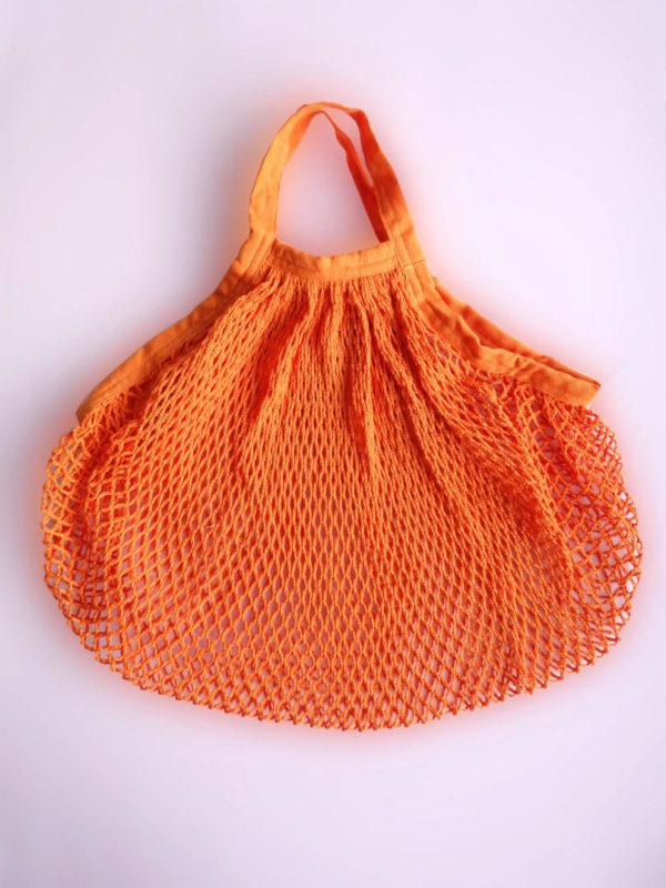 Bolsa de Malla Naranja