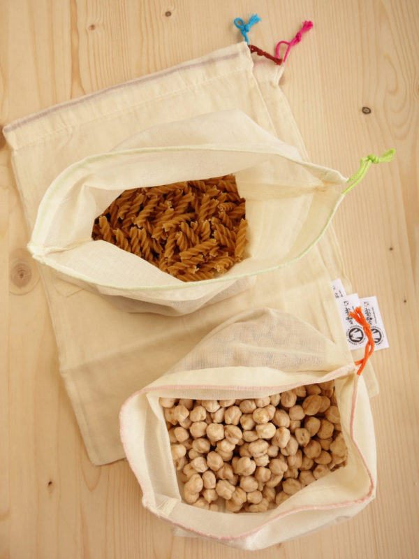 Bolsas Reutilizables para Comprar a Granel
