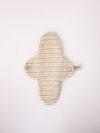 Compresa Pequeña de tela de algodon organico