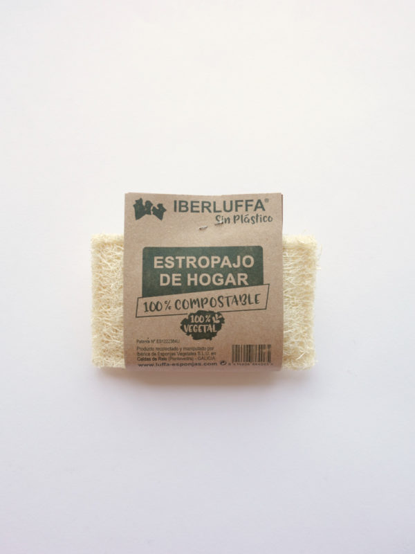 Estropajo vegetal natural luffa