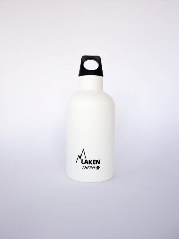 Botella termica acero inoxidable Laken Blanca