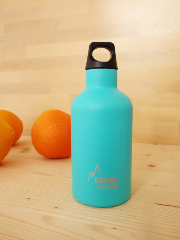 Botella termica acero inox Laken Turquesa