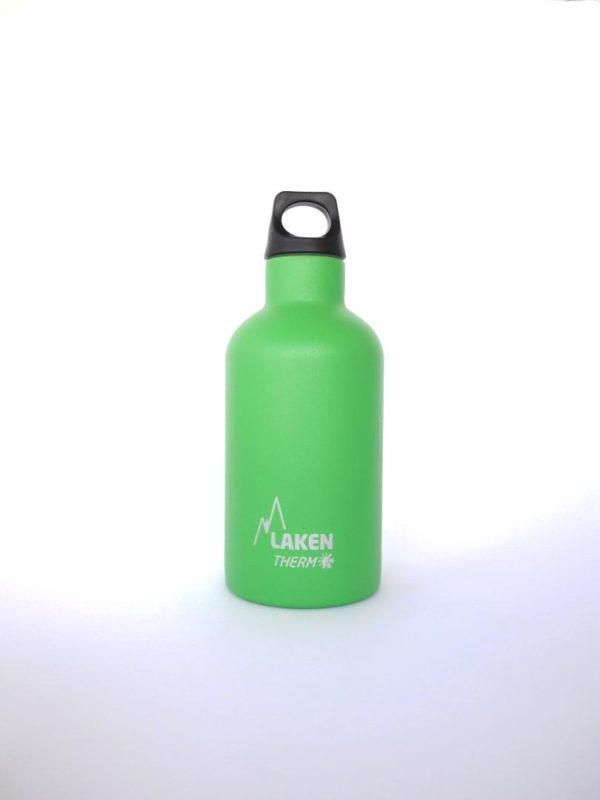 Botella termica acero inox Laken Verde