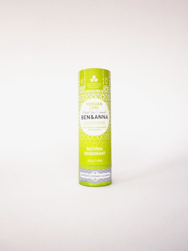 Desodorante natural zero waste Persian Lime Benn Anna
