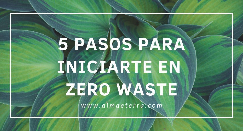 5 pasos para iniciarte en Zero Waste FB