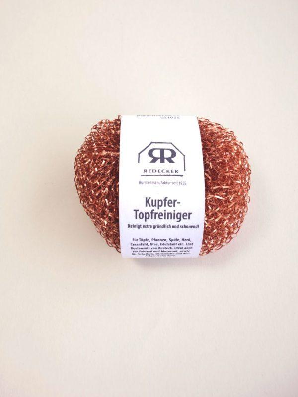 Estropajo de cobre nana Redecker 1