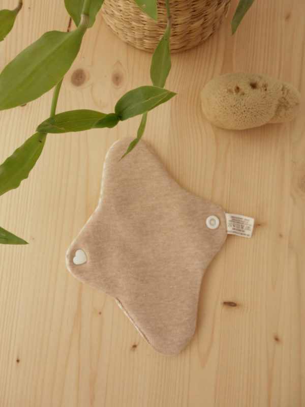 Salvaslip de tela de algodon ecologico