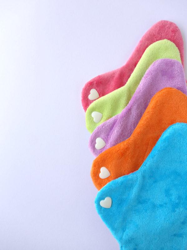 Salvaslip de tela de algodon organico colores 3
