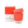 Taza reutilizable cristal cafe Coral Neon Kactus