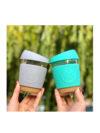 Taza reutilizable para café de cristal Mint Neon Kactus