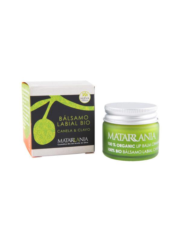 Balsamo labial canela clavo bio - Matarrania