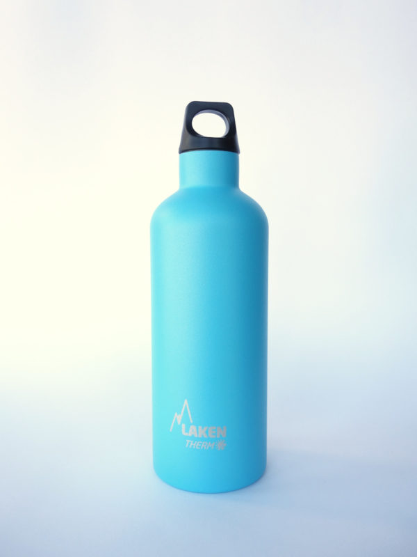 Botella termica acero inox Azul Claro Laken 500ml