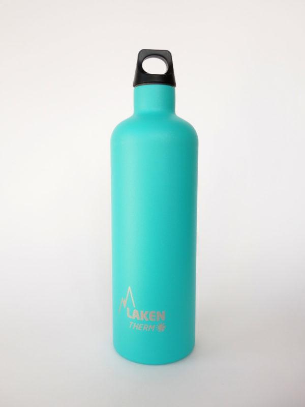 Botella termica acero inox Laken 750ml Turquesa