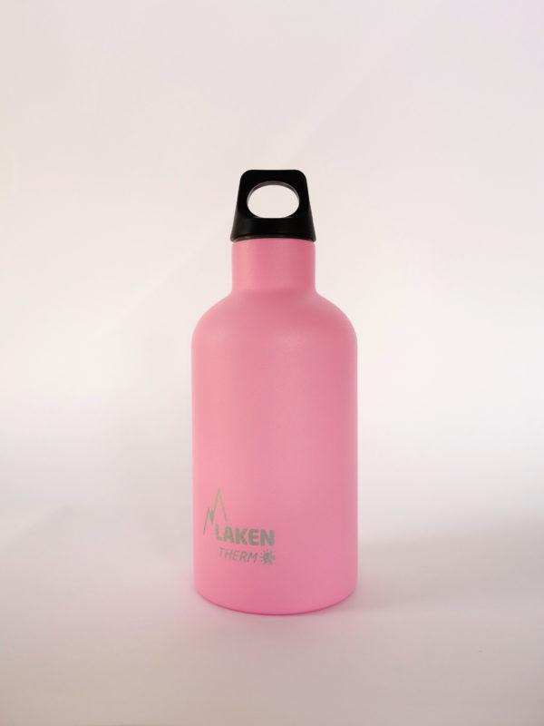 Botella termica acero inox Rosa Laken 035 1