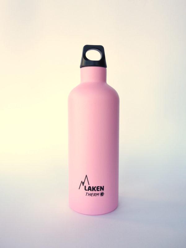 Botella termica acero inox Rosa Laken 500ml