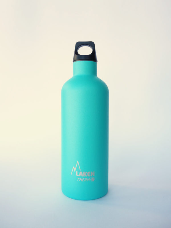 Botella termica acero inox Turquesa Laken 500 ml