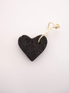 piedra pómez corazón