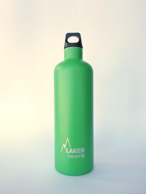 Botella termica acero inox Laken 750ml Verde 1