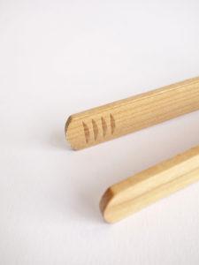Pinzas madera cocina