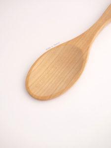 Cuchara de madera cocina
