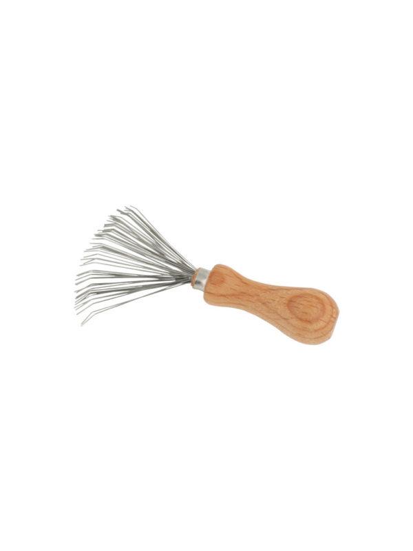 Rastrillo limpia cepillos y peines