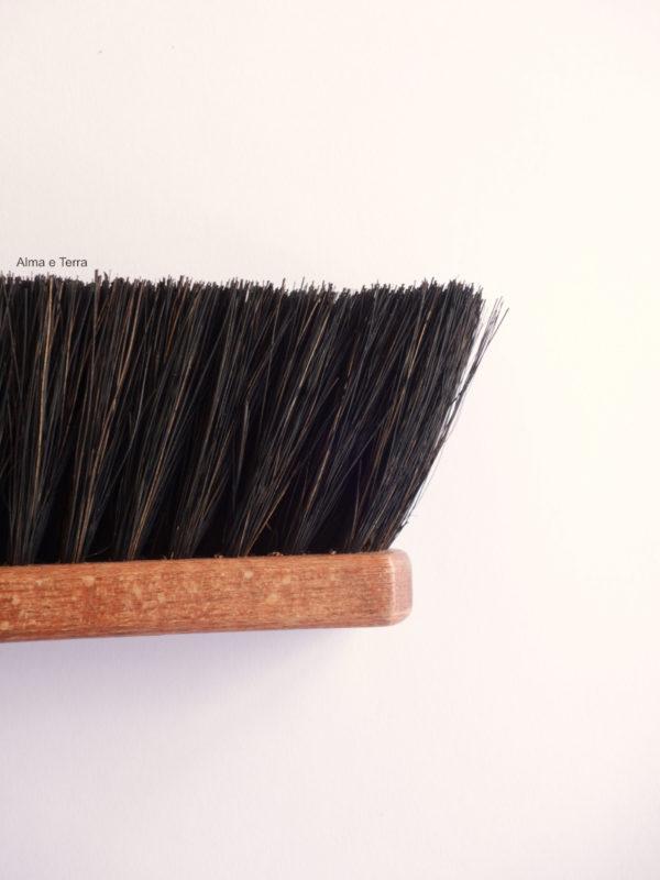 Cepillo-escoba de mano fibra vegetal sin plástico