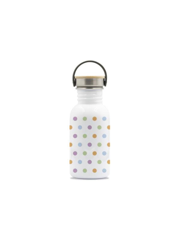 botella acero inoxidable reutilizable puntos sin plastico 500ml laken