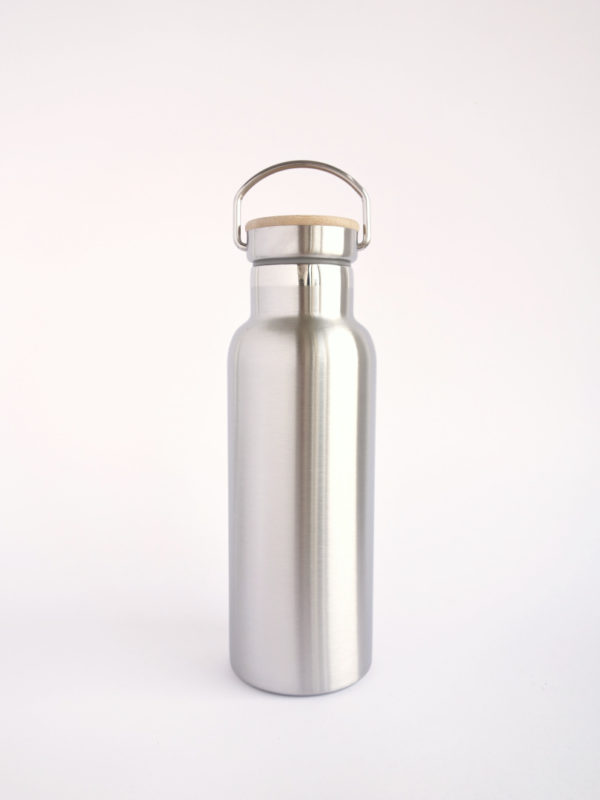botella termica de acero inoxidable 500ml lechera vintage